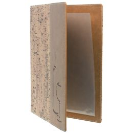 Securit Weinkarte DESIGN CORK, DIN A4, beige