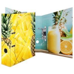 HERMA Motivordner Ananas, DIN A4, Rückbreite: 70 mm