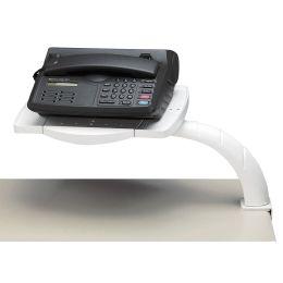 MAUL Telefonarm, mit Klemmfuß, Fläche: 220 x 357 mm, grau
