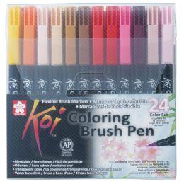 SAKURA Pinselstift Koi Coloring Brush, 24er Etui