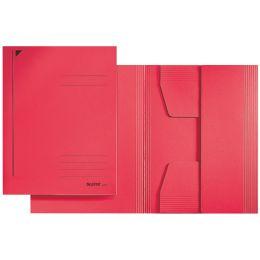 LEITZ Jurismappe, DIN A5, Karton 320 g/qm, rot