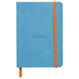 RHODIA Notizbuch RHODIARAMA, DIN A6, liniert, türkis