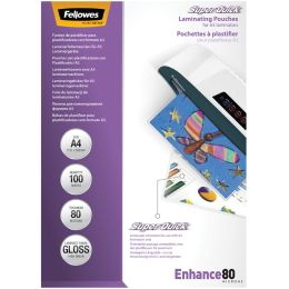 Fellowes Laminierfolientasche Super Quick, DIN A4, 160 mic