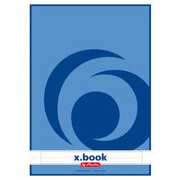 herlitz Arbeitsblock x.book DIN A4, 50 Blatt, kariert