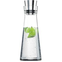 emsa Glaskaraffe FLOW SLIM Carafe, 1,0 Liter