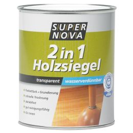 SUPER NOVA Holzsiegel 2in1 seidenmatt, farblos, 750 ml