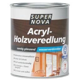 SUPER NOVA Acryl-Holzveredelung, weiß, 750 ml