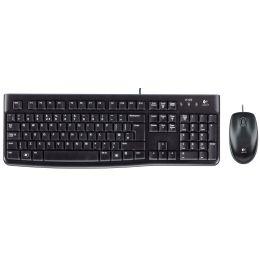 Logitech Desktop Set MK120, kabelgebunden, schwarz