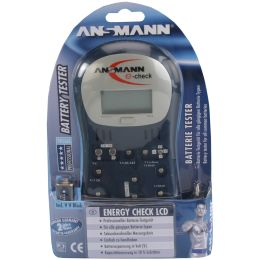 ANSMANN Teststation ENERGY CHECK LCD