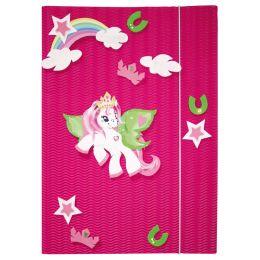 ROTH Zeichnungsmappen-Bastelset Pony, DIN A3
