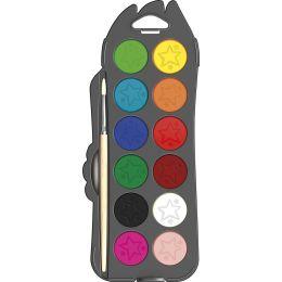 Maped Deckfarbkasten COLORPEPS, 12 Farben