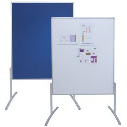 FRANKEN Moderationstafel PRO, 1.200 x 1.500 mm, Filz/Schreib