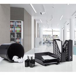 HAN Stehsammler KLASSIK, A4, Kunststoff, schwarz