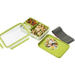 emsa Lunchbox CLIP & GO, 1,20 Liter, transparent / grün