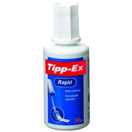 Tipp-Ex Korrekturflüssigkeit Rapid, weiß, 20 ml