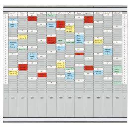 FRANKEN T-Kartentafel Universal Planer, 819 x 780 mm