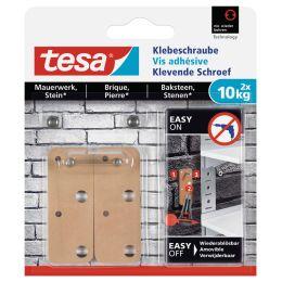 tesa Klebeschraube für Mauerwerk, rechteckig, 10 kg