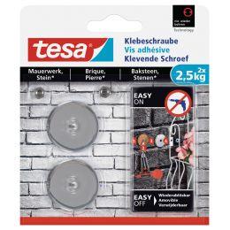 tesa Klebeschraube für Mauerwerk, rund, 2,5 kg