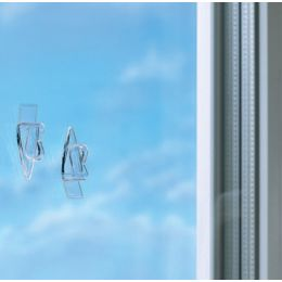 tesa Powerstrips Klebestreifen für Glasflächen