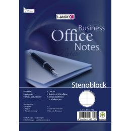 LANDRÉ Stenoblock Office Business Notes A5, 40 Blatt