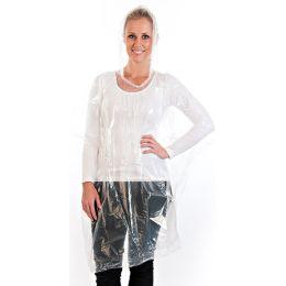 franz mensch Regenponcho, aus Polyethylen, transparent