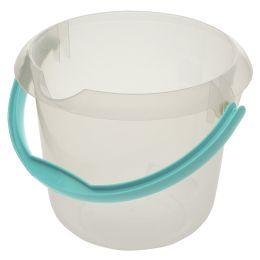 keeeper Putzeimer mika, rund, 5 Liter, transparent
