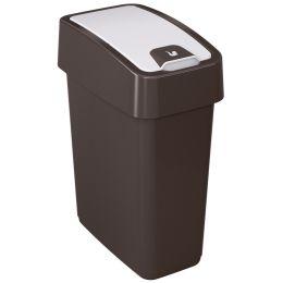 keeeper Abfalleimer magne, 10 Liter, anthrazit / creme