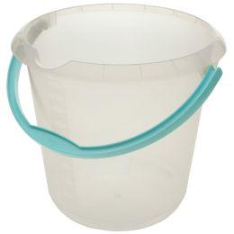 keeeper Putzeimer mika, rund, 10 Liter, transparent