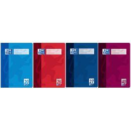 Oxford Schulheft, DIN A4, Lineatur 22 / kariert, 32 Blatt