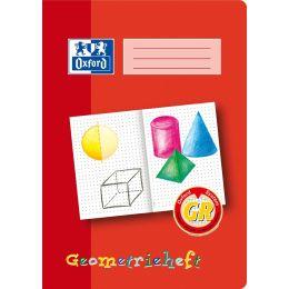 Oxford Schreiblernheft Geometrieheft, Lineatur: GR, DIN A4