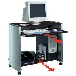 DURABLE DESIGN LINE PC-Arbeitsplatz, silber/anthrazit