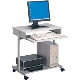 DURABLE PC-Arbeitsplatz Standard, metallic grau / grau