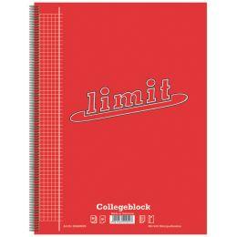 Limit Collegeblock, DIN A4, kariert, 80 Blatt
