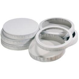 folia Käseschachtel, Durchmesser: 153 mm, weiß