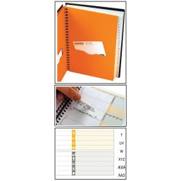 Oxford International Adressbuch ADDRESSBOOK, DIN A5