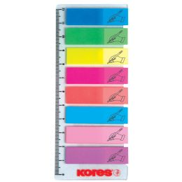 Kores Pagemarker Sign Here- Folie, 12 x 45 mm, 8x 25 Blatt