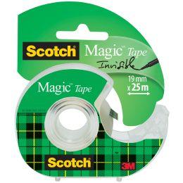 3M Scotch Klebefilm Magic 810, unsichtbar, Caddy-Pack