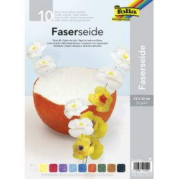 folia Strohseide, 230 x 320 mm, 25 g/qm, farbig sortiert