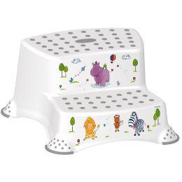 keeeper kids Tritthocker igor hippo, zweistufig, weiß