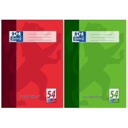 Oxford Vokabelheft, DIN A4, 40 Blatt, 3 Spalten, liniert