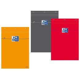 Oxford Notizblock, DIN A5, kariert, 80 Blatt, orange