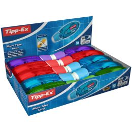 Tipp-Ex Korrekturroller Micro Tape Twist, Display