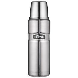 THERMOS Isolierflasche STAINLESS KING, 0,47 Liter, silber