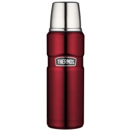 THERMOS Isolierflasche STAINLESS KING, 0,47 Liter, rot