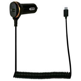 LogiLink KFZ-Ladekabel, Micro USB-Stecker & USB-Kupplung