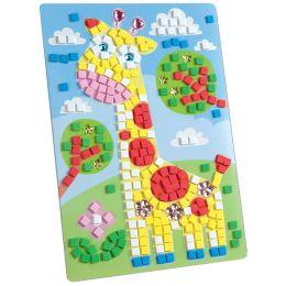folia Moosgummi-Mosaik Giraffe, 405 Teile