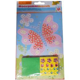folia Moosgummi-Mosaik Schmetterling, 405 Teile
