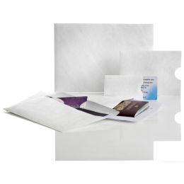 Tyvek Scansafe Security Kreditkarten-Hülle, 87 x 57 mm, weiß