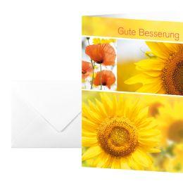 sigel Genesungskarte Gute Besserung, (B)115 x (H)170 mm