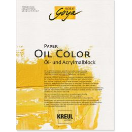 KREUL Künstlerblock SOLO Goya Paper Oil Color, 300 x 400 mm